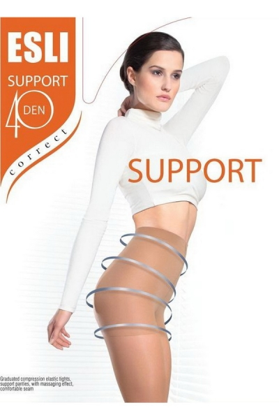 Колготки Support 40 XL marrone Esli