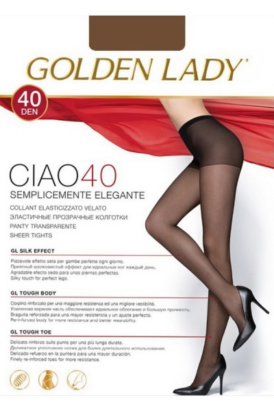 Колготки Ciao 40 melon Golden Lady